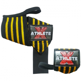 Athlete-X Elastic Wrist Wraps - Short