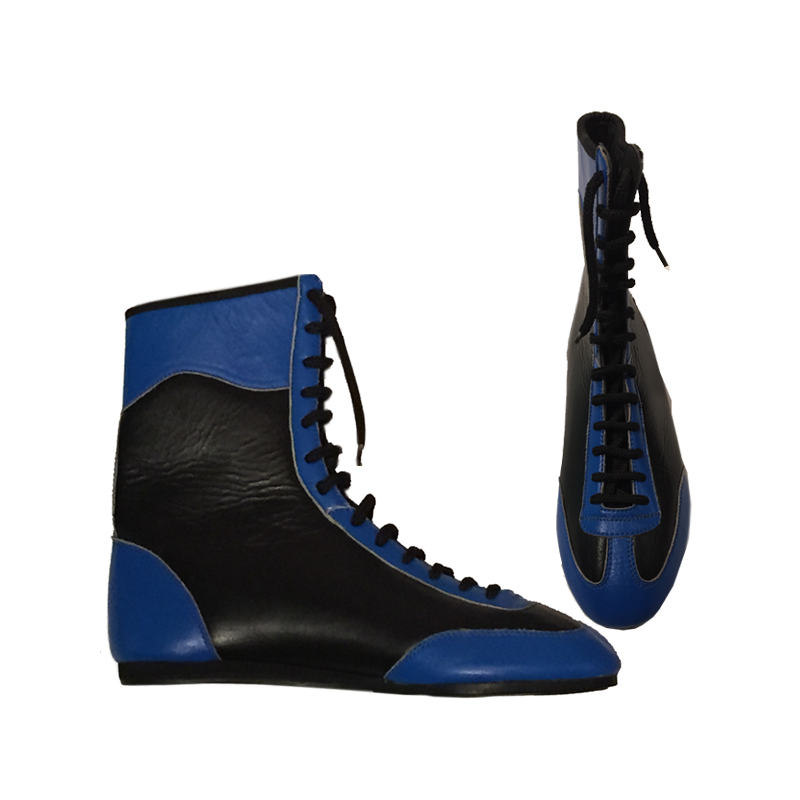 athlete x leather boxing boots