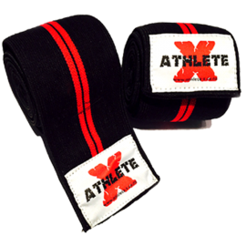 Athlete-X Elastic Knee Wraps