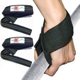 Athlete-X Nylon Lifting Straps - Single Loop