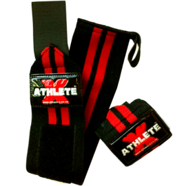 Athlete-X Elastic Wrist Wraps - Long