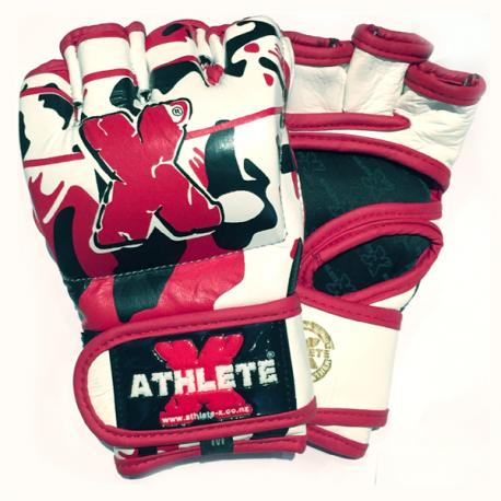 Athlete-X MMA / Combat Leather Gloves - Camo 2