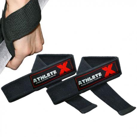 Athlete-X Lifting Straps - Single Loop