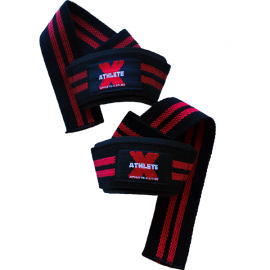 Athlete-X Heavy Duty Lifting Straps - Single Loop