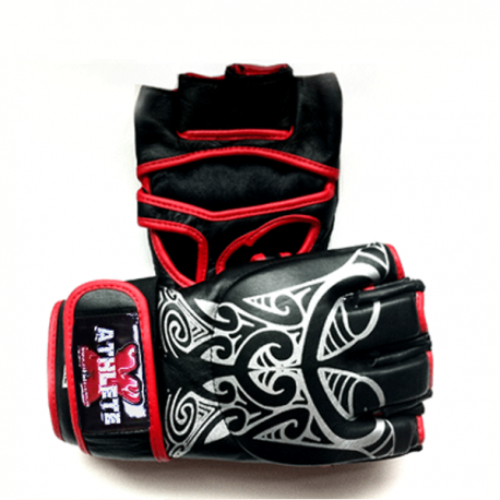 Athlete-X MMA / Combat Leather Gloves - Tribal