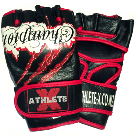 Athlete-X MMA / Combat Leather Gloves - Champion