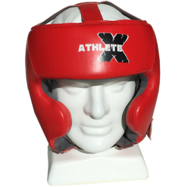 Athlete-X 100% Leather Headgear