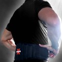 Athlete-X Lumbar Support Neopreen Gym Belt