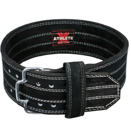 Athlete-X Suede Leather Power Lifting Belt