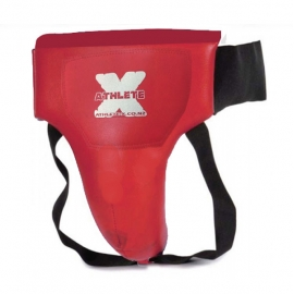 Athlete-X Groin Guard Male Red